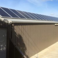 Domestic Solar Panel Installation At Geelong home