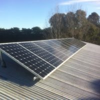 Solar panel installation at Geelong home